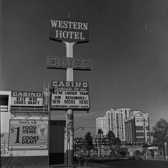 Western Hotel and Casino Downtown Las Vegas