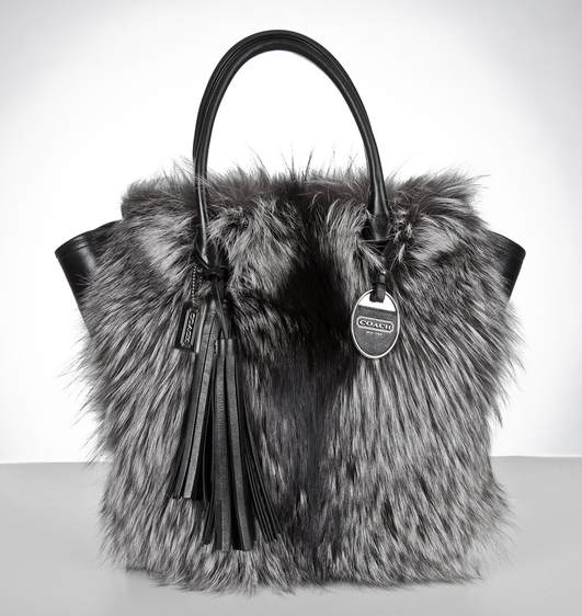 Coach Legacy Fur Tanner Tote