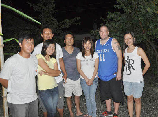 Friends in the Philippines