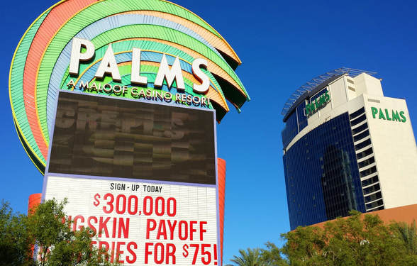 Palms Hotel and Casino Sign